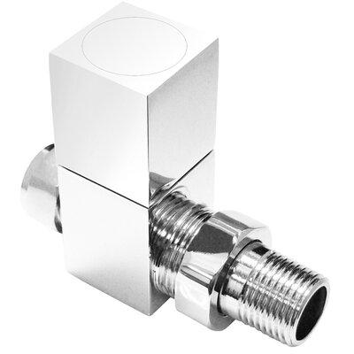 Home Etc Straight Square Vertical Radiator Valve