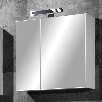 Urban Designs GW-Liquid 67 x 70cm Mirror Cabinet