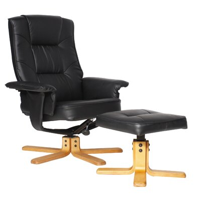Home Etc Bessie Recliner and Footstool