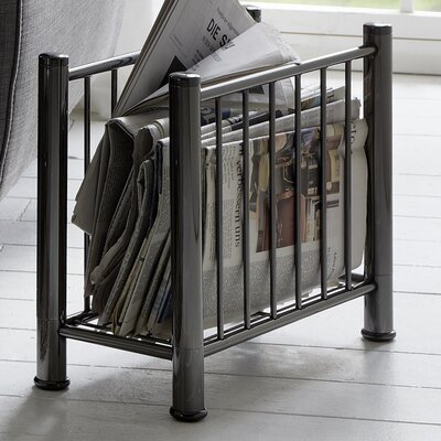 House Additions Nickel Magazine Rack