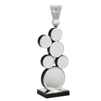 House Additions Mirror Bubbles Candlestick