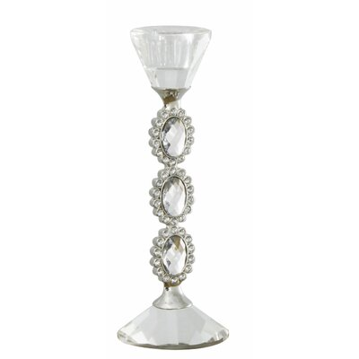 House Additions Crystal Cut Glass Candlestick