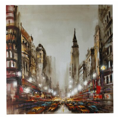 House Additions New York Art Print on Canvas