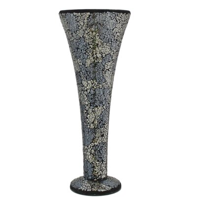 House Additions Mosaic Trumpet Vase