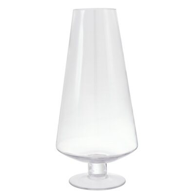 House Additions Cone Stemmed Vase