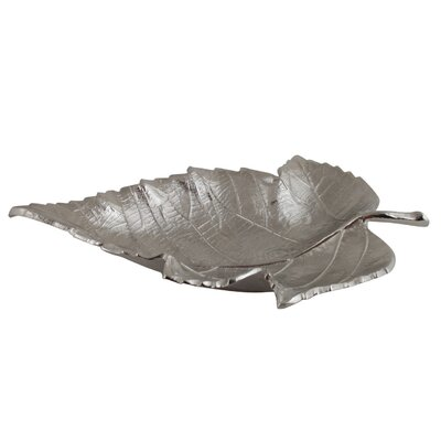 House Additions Decorative Camelot Oak Leaf Dish