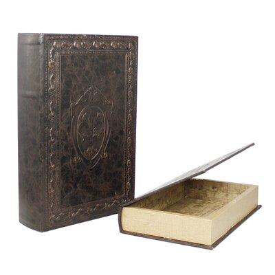 House Additions 2 Piece Around the World Book Storage Box Set