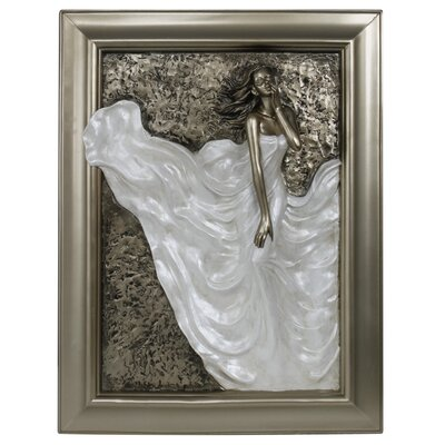 House Additions Divine Passion Art Print Plaque in Grey