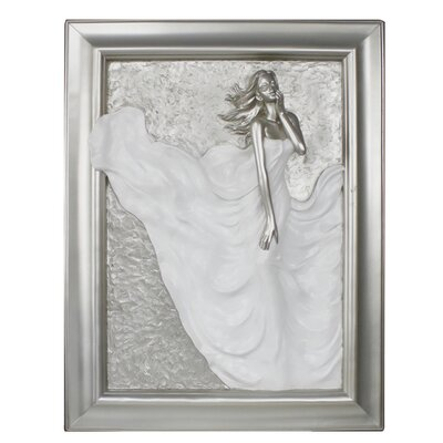 House Additions Divine Passion Art Print Plaque in White