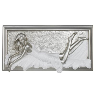 House Additions Beauty Passion Art Print Plaque in Silver