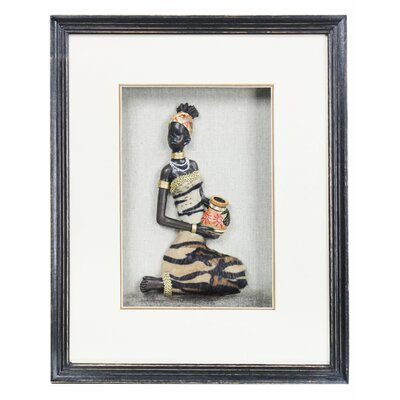 House Additions 3D Akinyi Framed Graphic Art