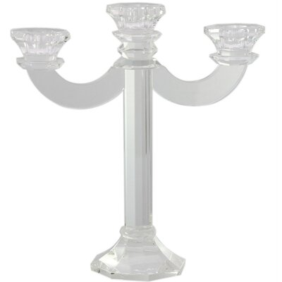 House Additions Glass Candelabra
