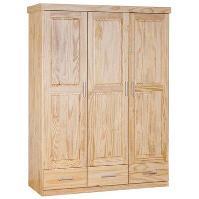 House Additions Fabrice 3 Door Wardrobe
