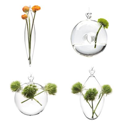 House Additions Hana 6 Piece Hanging Vase Set