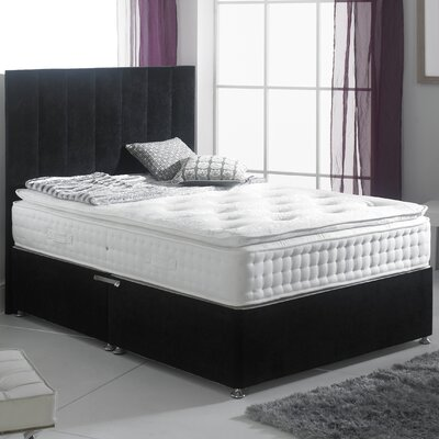House Additions Bruges Pillowtop Memory Foam Divan Bed