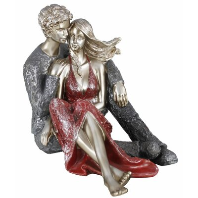 House Additions Sitting Couple Figurine