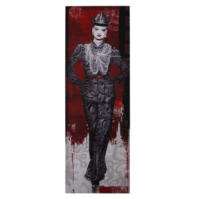 House Additions Chinoise Catwalk Model Art Print
