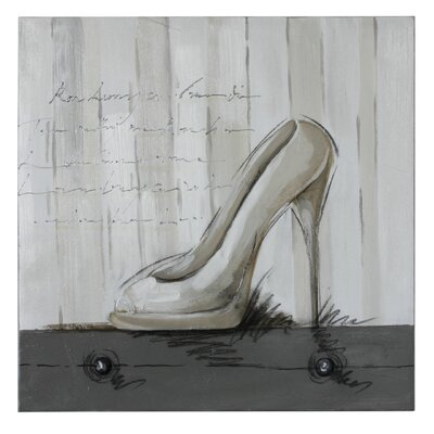 House Additions Heather High Heel Art Print