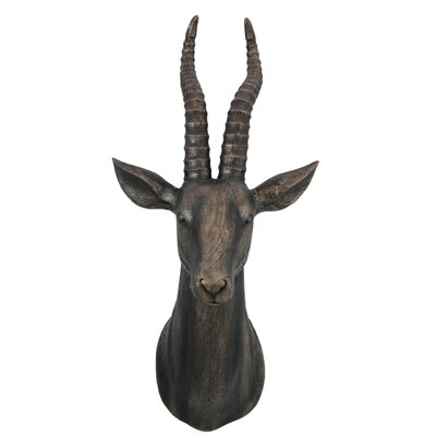 House Additions Antelope Bust Wall Décor