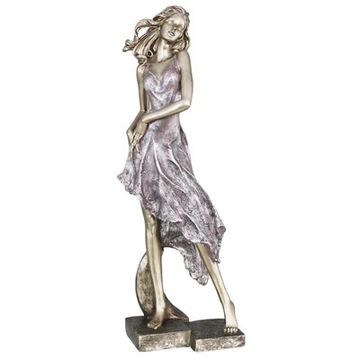 House Additions Standing Lady Figurine