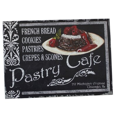 House Additions French Cafe Pastry Cafe Vintage Advertisement Plaque