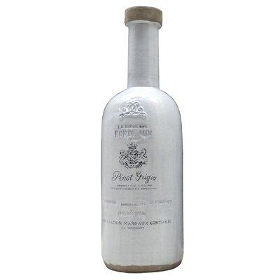 House Additions Bordeaux Bottle Vase