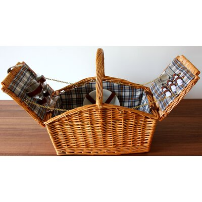 House Additions 44cm Picnic Baskets with High Handle