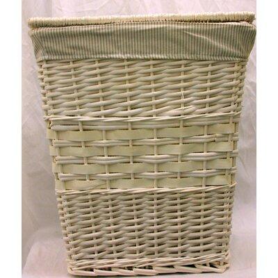 House Additions Rectangular Wicker Laundry Basket