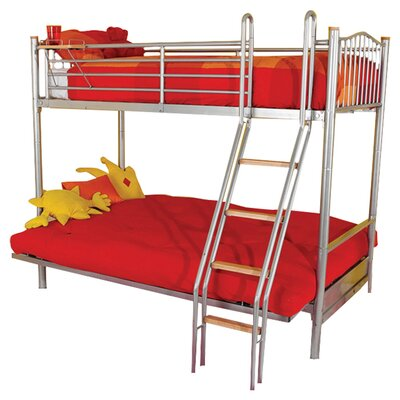 House Additions Halkyn Twin Futon Bunk Bed