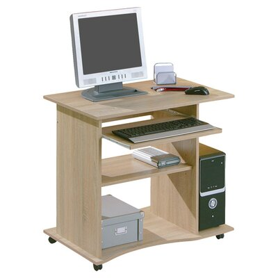 House Additions Diana Computer Desk with Keyboard Tray