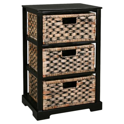 House Additions Weave 3 Drawer Chest