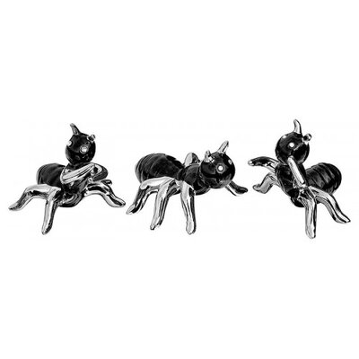 House Additions 3 Piece Ant Figurine Set