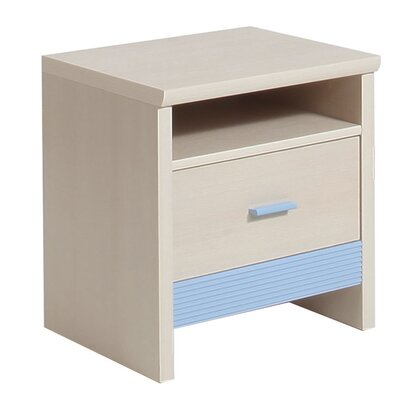 House Additions Lazo 1 Drawer Bedside Table