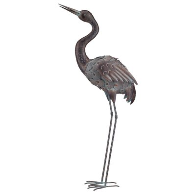House Additions Up Crane Statue