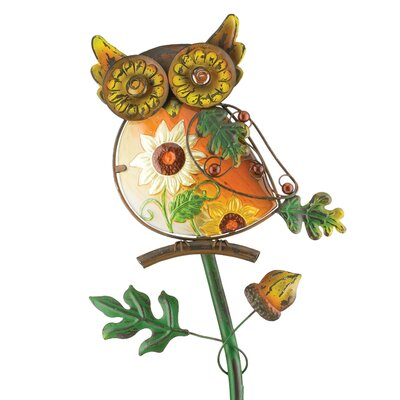 House Additions Owl Garden Stake