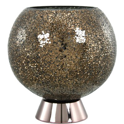 House Additions Sparkle Mosaic 24.5cm Table Lamp