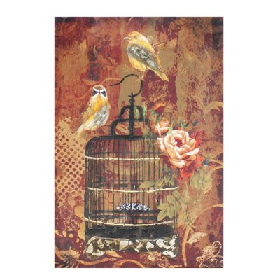 House Additions Birdcage Art Print