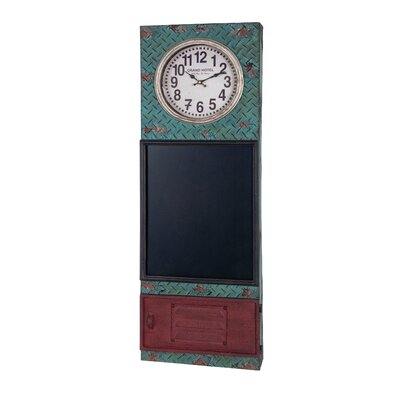 House Additions Memoboard Clock