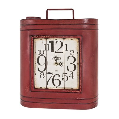House Additions Key Box Wall Clock