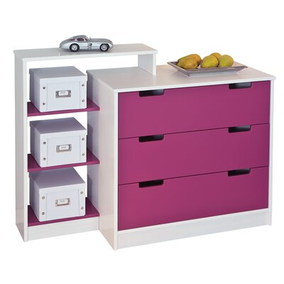 House Additions Rachel 3 Drawer Chest of Drawers
