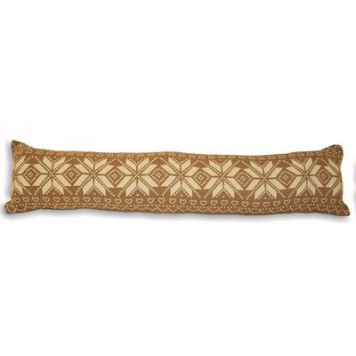 House Additions Snowflake Fabric Draught Excluder