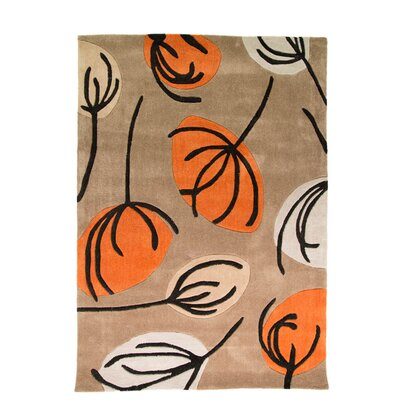 House Additions Infinite Inspire Hand-Tufted Beige Area Rug