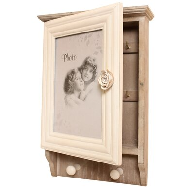 House Additions My Heart Picture Frame Key Box