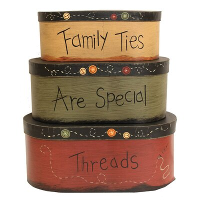 House Additions Family Ties 3 Piece Box Set