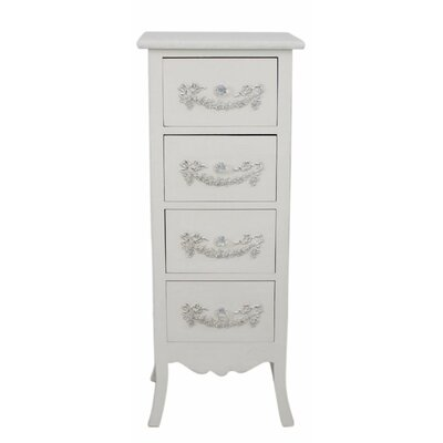 House Additions 4 Drawer Chest of Drawers