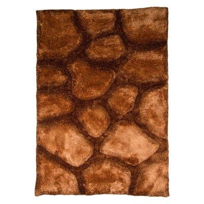 House Additions Brook Handmade Brown Area Rug