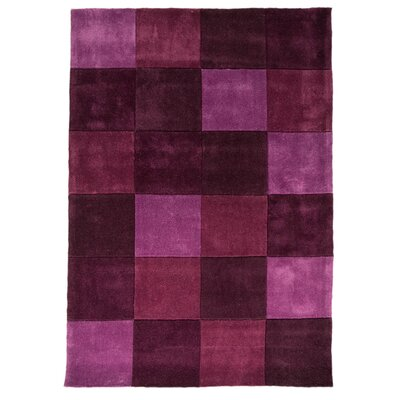 House Additions Infinite Inspire Hand-Tufted Purple Area Rug