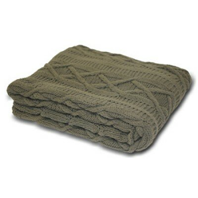 House Additions Aran Throw