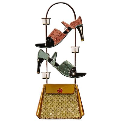 House Additions High Heels Handbag Art Print Plaque