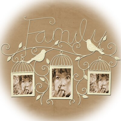 House Additions Family Picture Frame